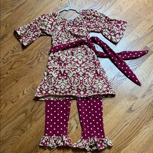 Toddler Boutique Outfit Set size XXL